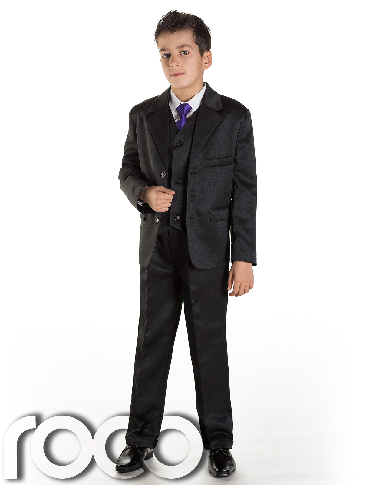 Black N Bianco Boys Suit and Tie in Black Complete Outfit (4) Sold by House Bianco. $ $ - $ You'll find an impressive selection of formal shirts and boys' suits at Sears in a wide range of sizes, patterns and colors. Make sure your child looks dapper at any event with sharp outfits that will turn heads wherever he goes.
