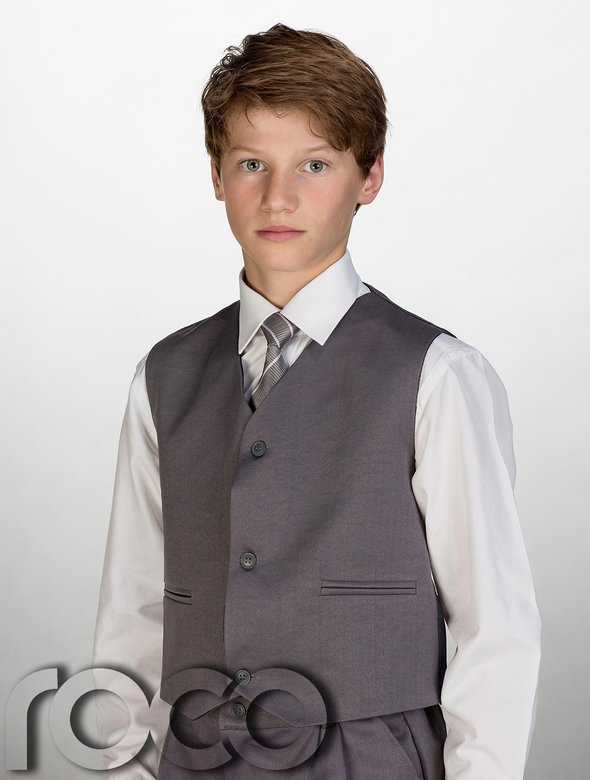Boys' Dress Suits Little boys need formal suits in their wardrobes to be ready for those important family occasions. Our classically tailored five-piece suits are perfect for family, church, or school events.