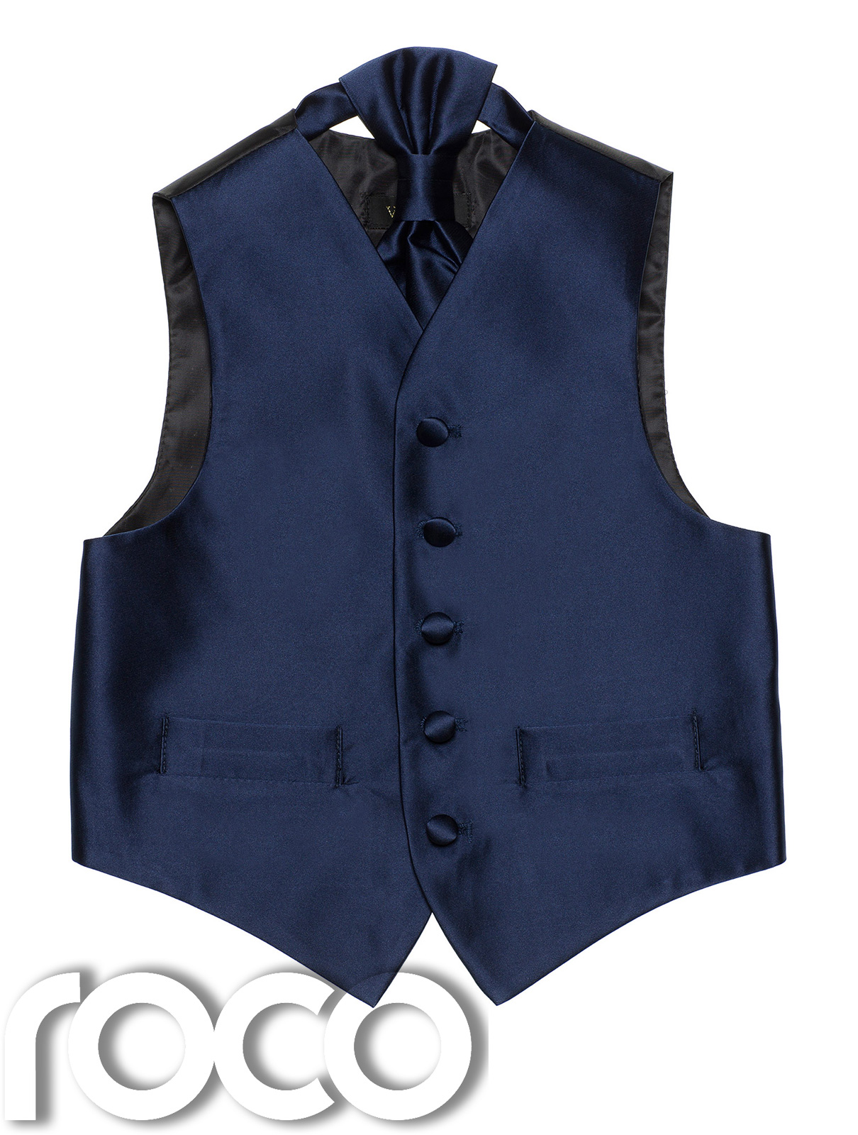 Product Description advertised the double breasted waistcoat, but for many men today it is.