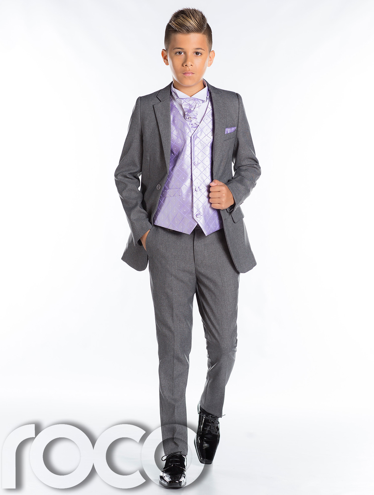 Boys Grey Suit, Slim Fit Suit, Boys Prom Suit, Grey Page Boy Suit ...