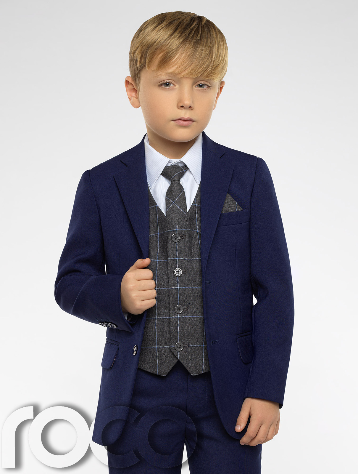 boys blue suit boys check waistcoat page boy suits boys