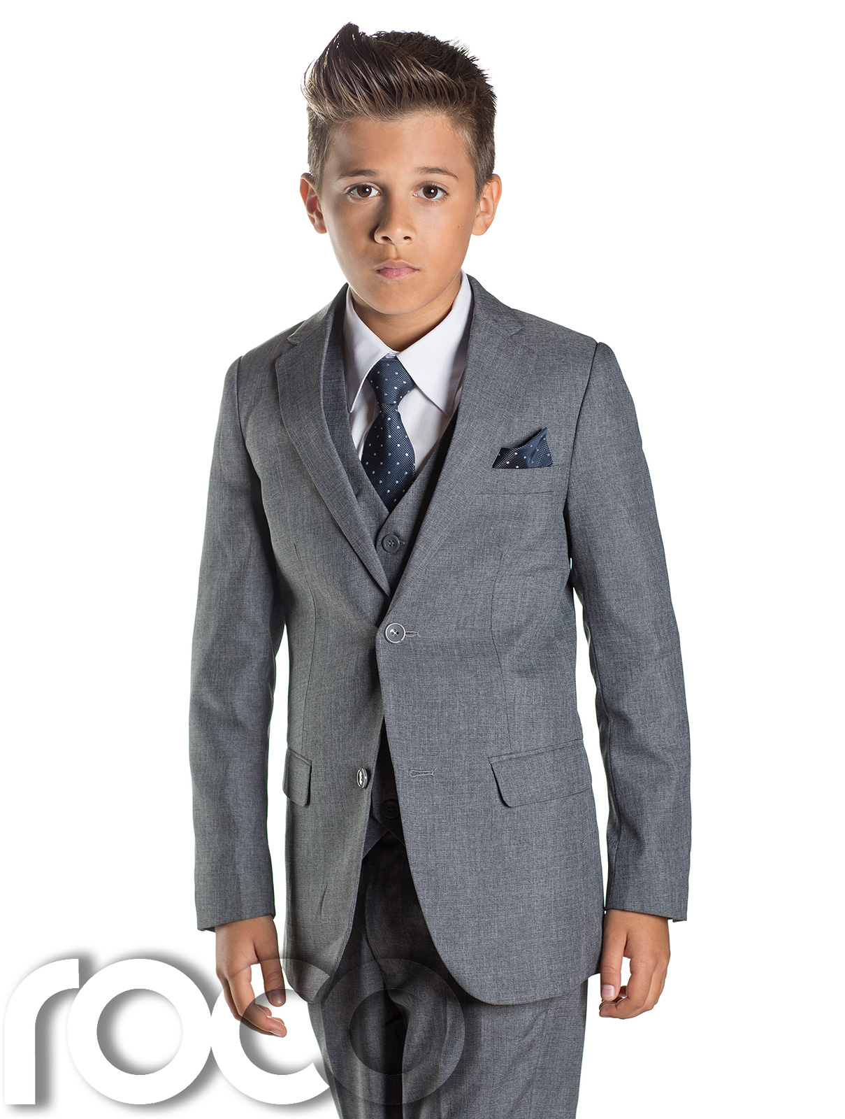 Boys Slim Fit Dark Grey Suit In Toddlers To Boys Sizing. from $ 72 out of 5 stars iGirldress. Boys Formal Dress Suit with Shirt and Vest. from $ 29 99 Prime. out of 5 stars Spring Notion. Boys' 4-Piece Dress up Pants Set. from $ 34 00 Prime. out of 5 stars Luca Gabriel.