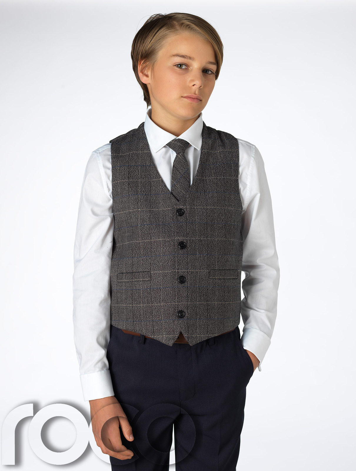 Men's Check Waistcoats A 3 piece suit isn't complete without a waistcoat, it is the stylish finish to a tailored suit. Match a check waistcoat with a check suit, or .