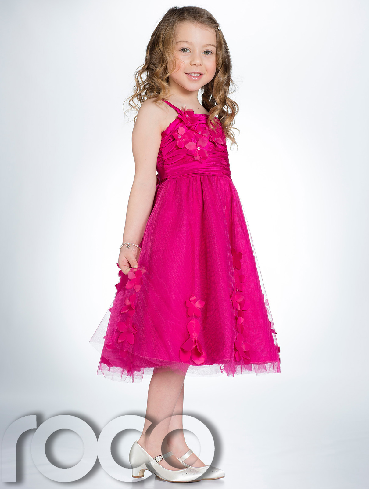 http://ebayshop.rococlothing.co.uk/listings/products/peppermint/dresses/cs110/hot%20pink/large/4.jpg Hot Pink Dress For Girls