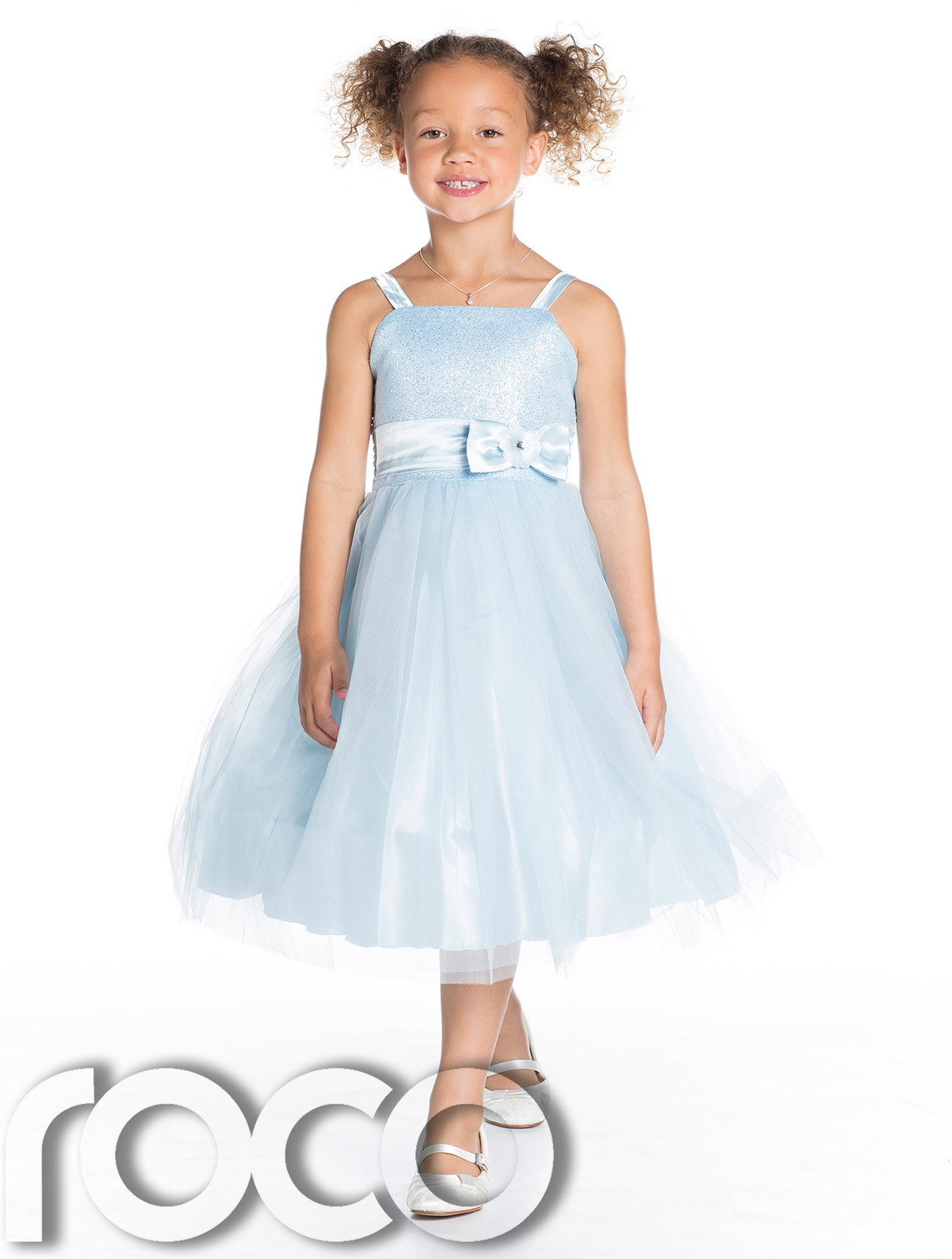 Baby Blue Flower Girl Dresses Uk 68