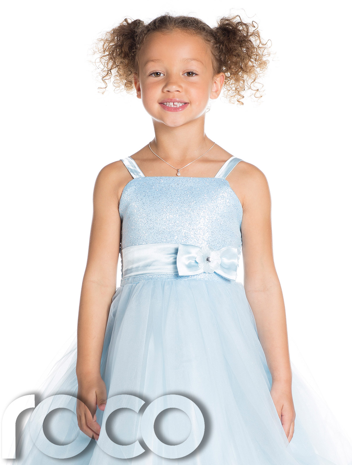 Baby Blue Flower Girl Dresses Uk 103