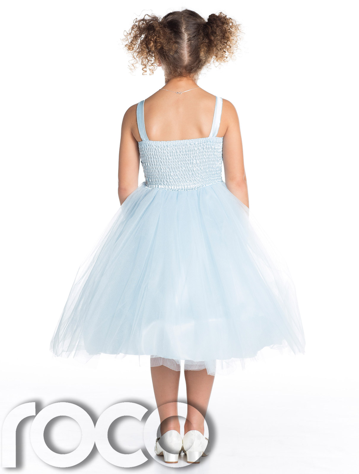 Girls Baby Blue Dress, Flower Girl Dresses, Prom Dress ...