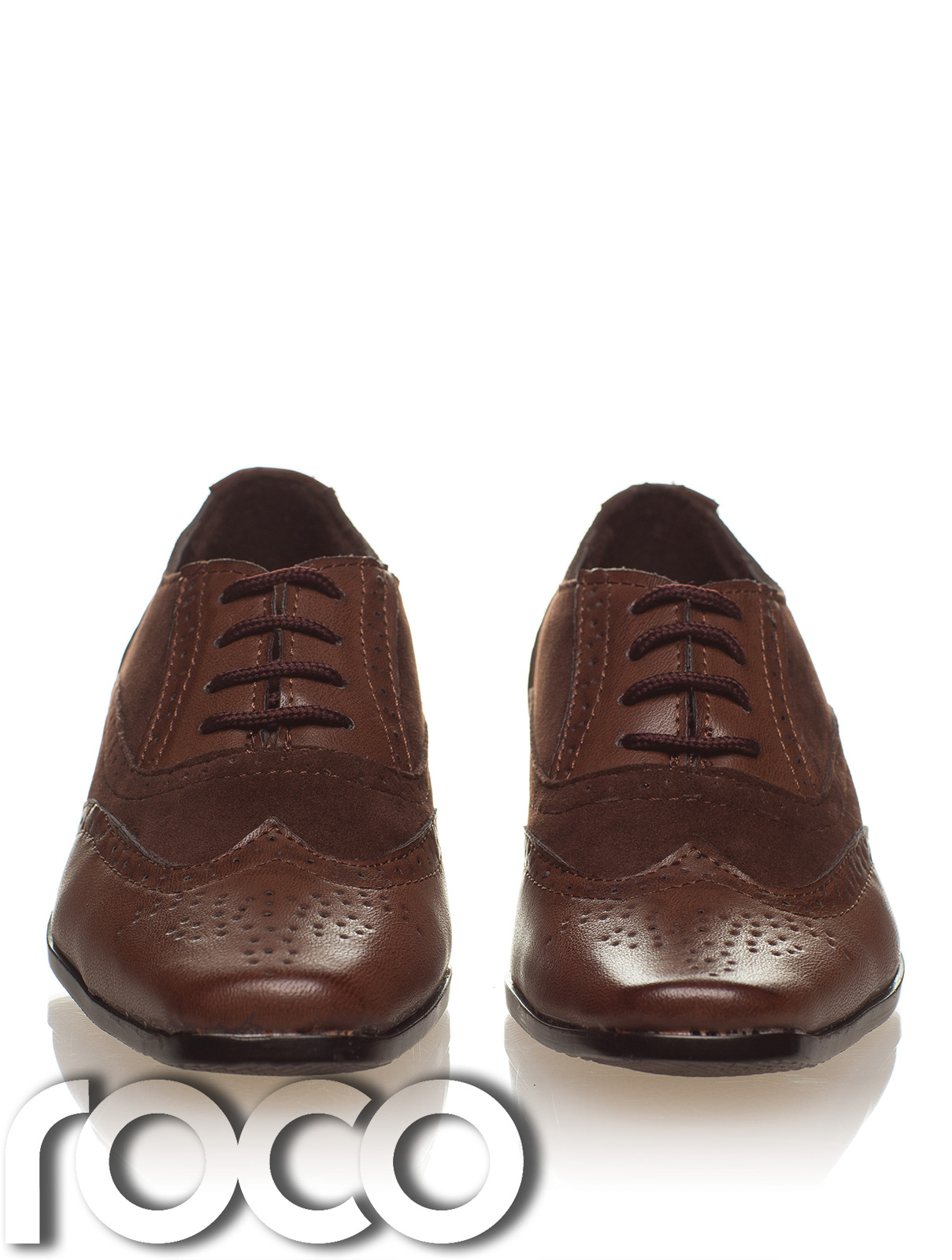 boys brown formal shoes boys brogues shoes