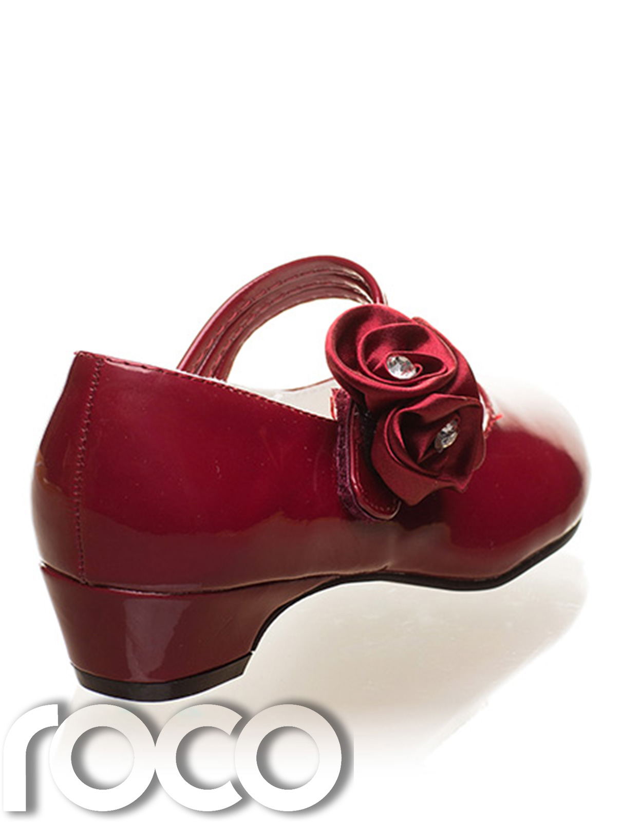 Girls Burgundy Shoes Flower Girl Shoes Communion Shoes