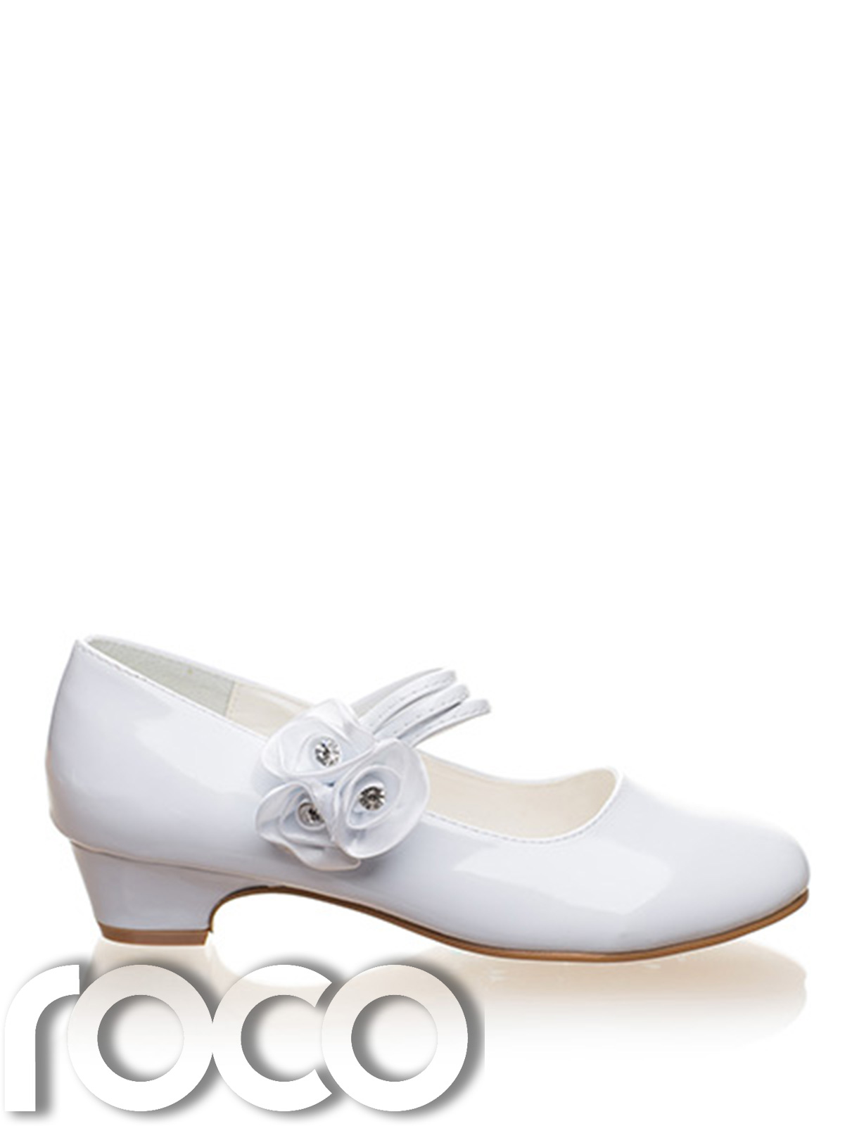 Girls White Shoes, Communion Shoes, Prom Shoes, Flower