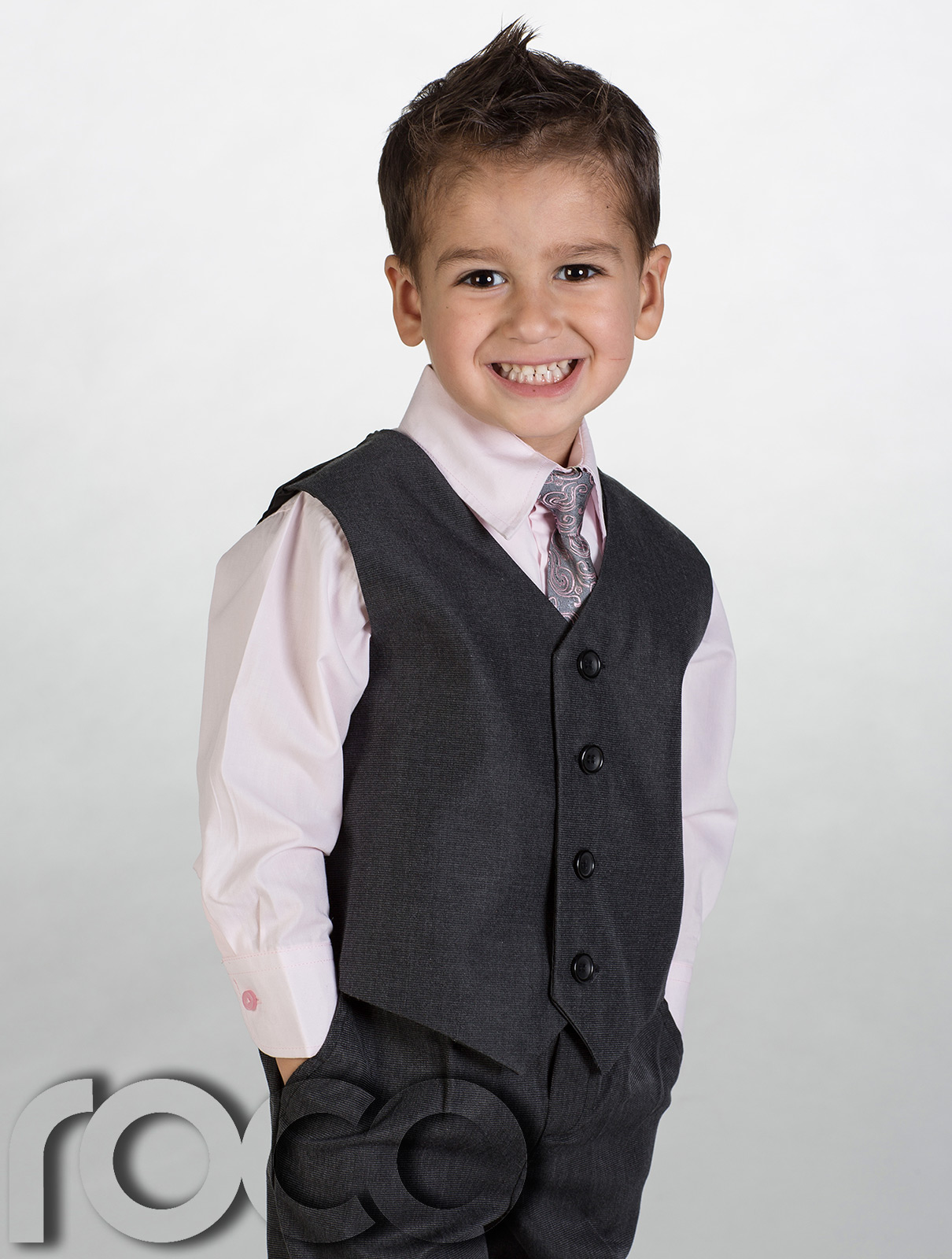 Baby Boy Suit, Toddler Short Sleeve Rompers Infant Outfit by TNYKER. 4 out of 5 stars $ - $ $ 16 $ 17 Boys Dark Grey 2 Button Wedding Suit. by Tuxgear. out of 5 stars 4. $ - $ $ 49 $ 64 See Size Options. Dark Gray Baby Boy .