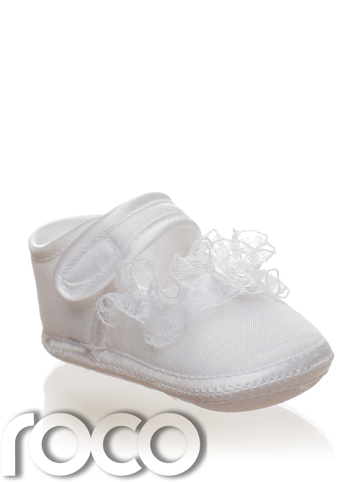Baby Girls White Soft Sole Shoes Girls Christening Shoes Flower Girl