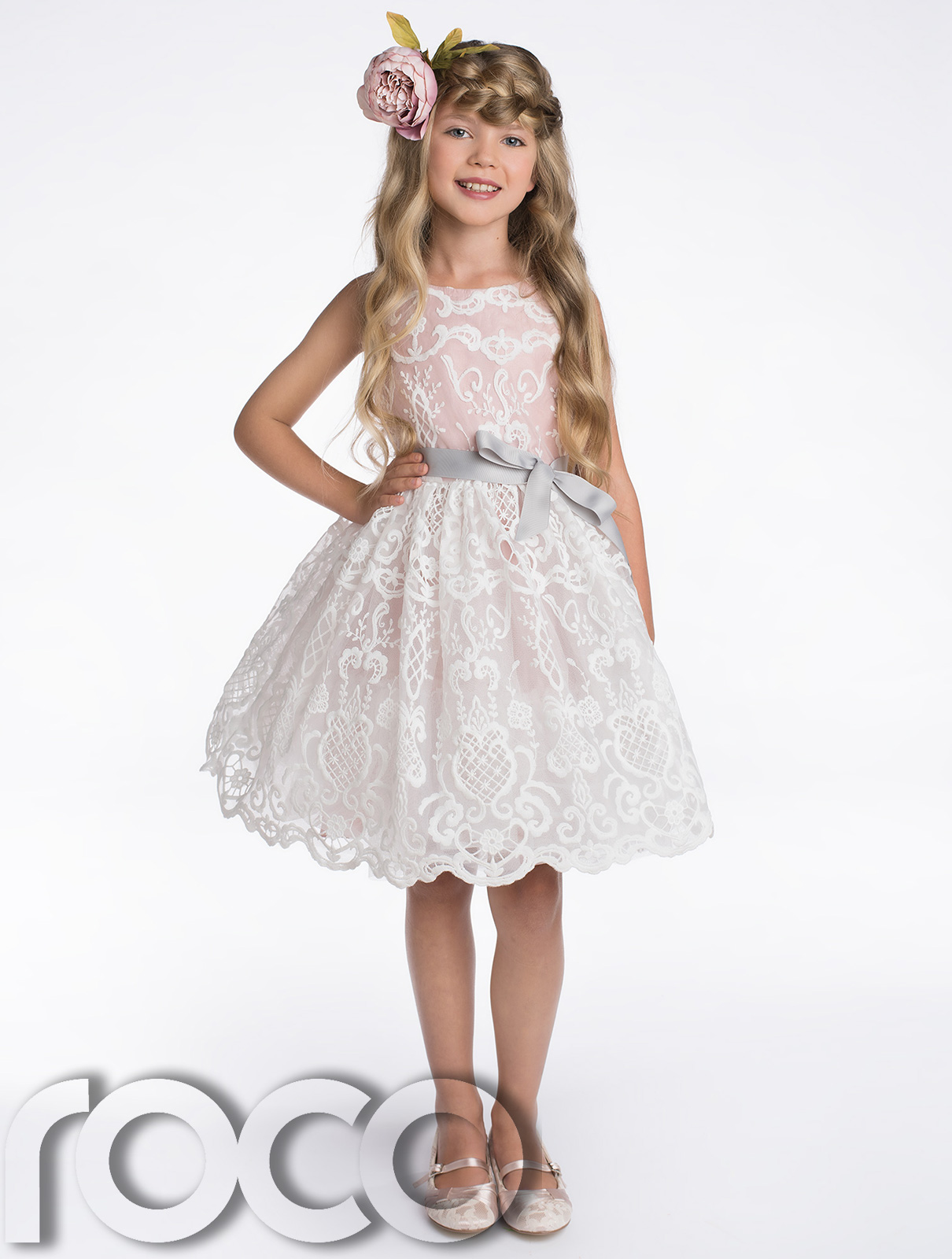 Details about Flower Girl Dresses, Bridesmaid Dress, Champagne Dress, Pink Dress, 2 8 years
