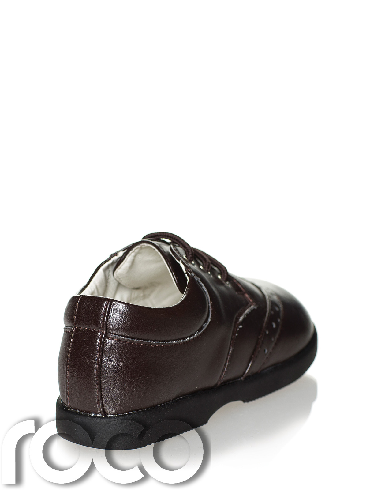 8fec66f38b2c9 Details about Boys Dark Brown Shoes, Boys Formal Shoes, Boys Wedding Shoes, Baby  Shoes