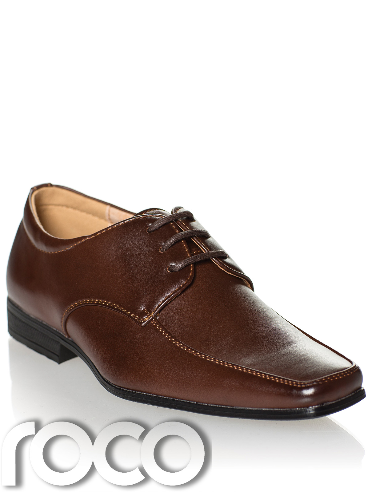c3e61f409 Details about Boys Dark Brown Shoes, Boys Formal Shoes, Boys Wedding Shoes,  Page Boy Shoe