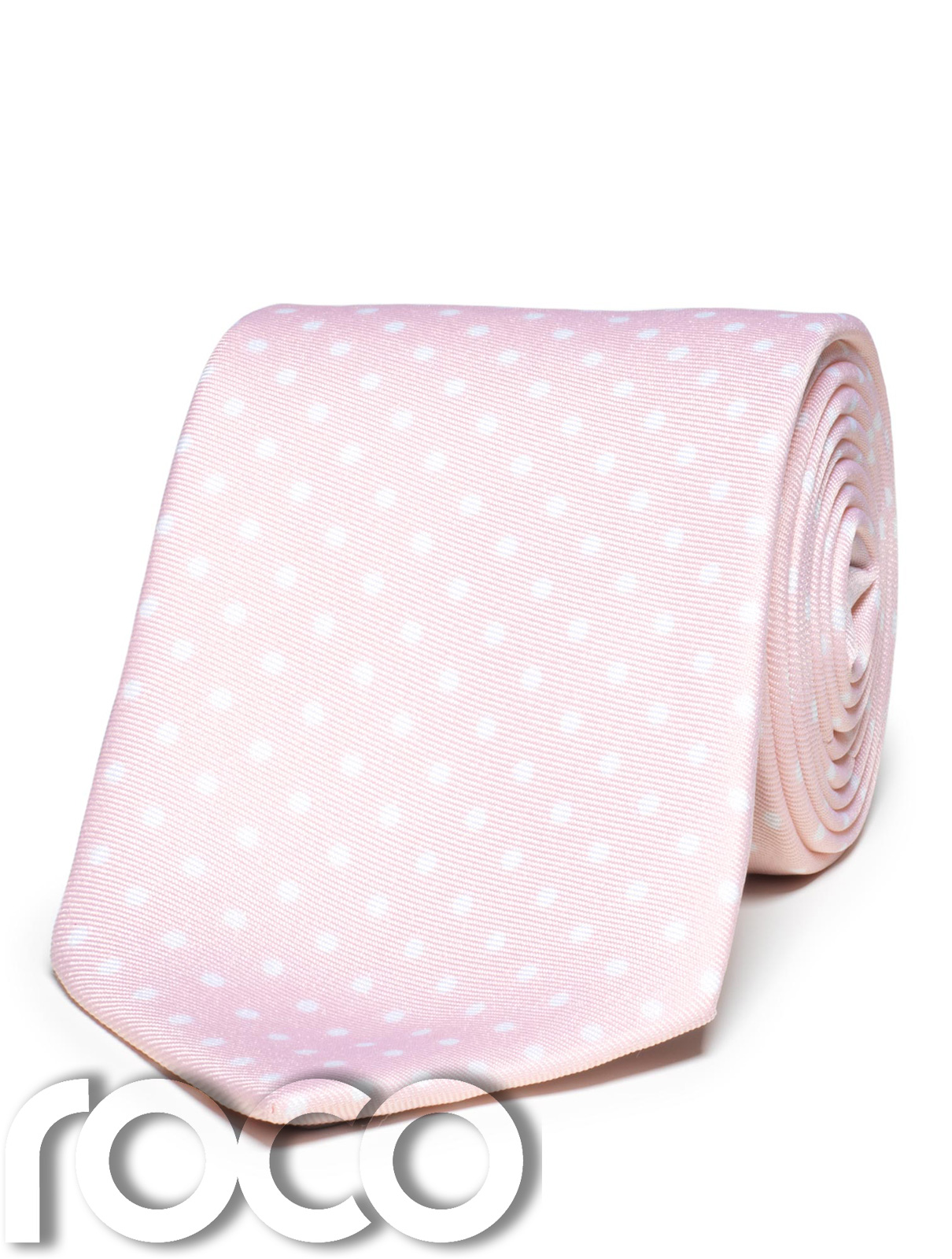 cfbc39a4dc5c Details about Boys Dusky Pink Tie, Boys Spotty Tie, Page Boy Accessories, Boys  Ties