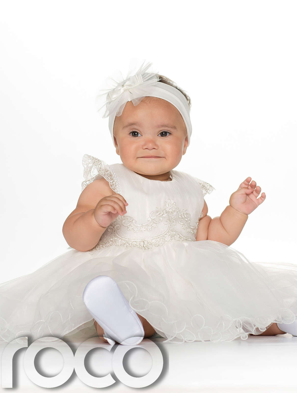 Baby Girls Ivory Dress, Christening Dress, Ivory ...