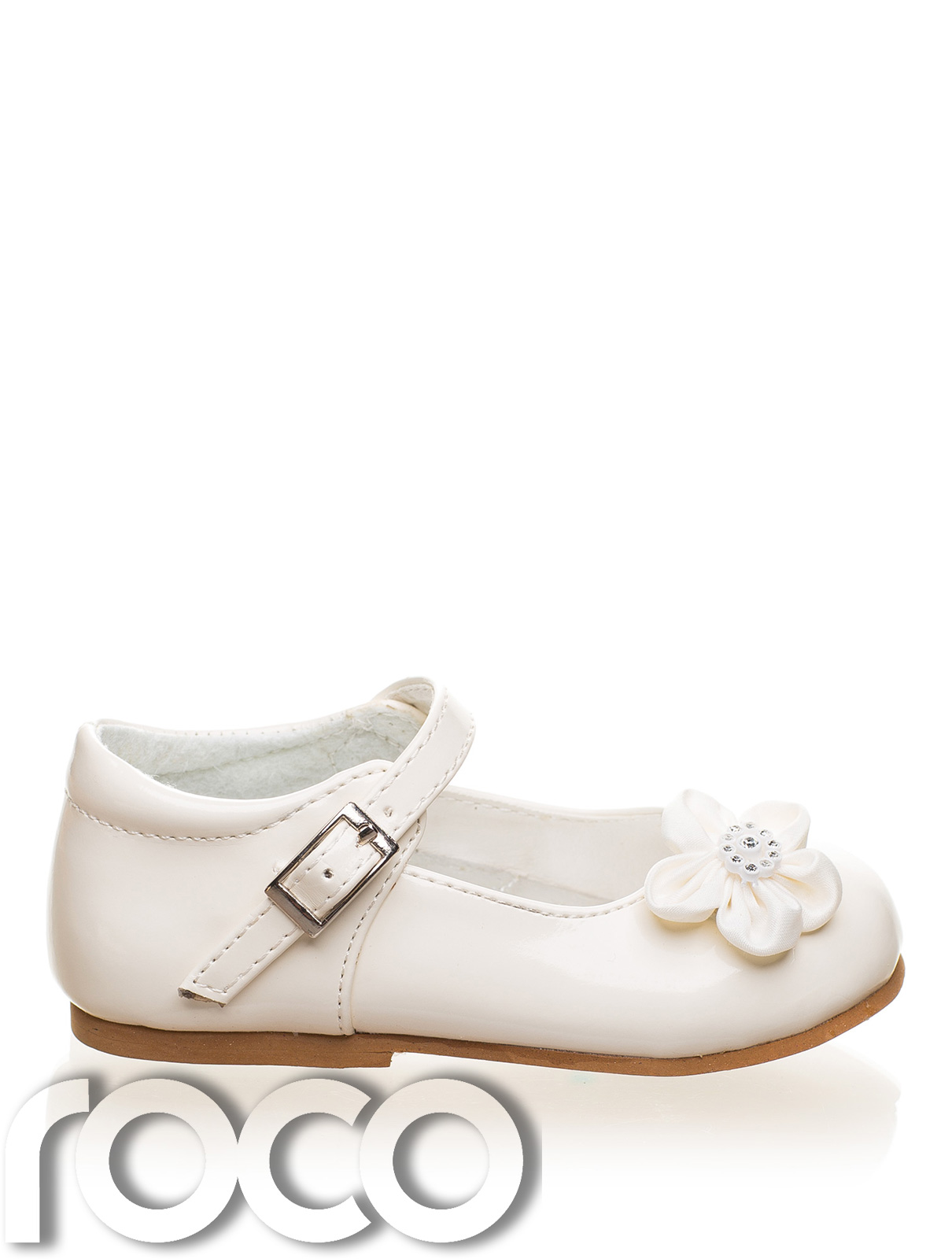Baby Girls Cream Shoes Christening Wedding Flower Girl Shoes Infant